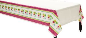 Flamingo Fun Plastic Table Cover