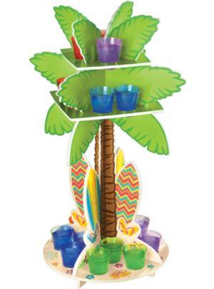 Palm Tree Shot Glass Holder