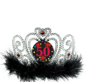 Light-Up 50th Birthday Tiara