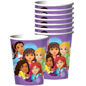 Dora and Friends Cups 8ct