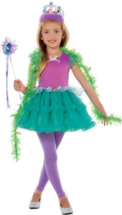 Girls Tutu Ariel Costume