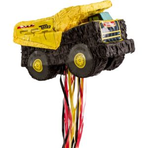 Pull String Tonka Truck Pinata