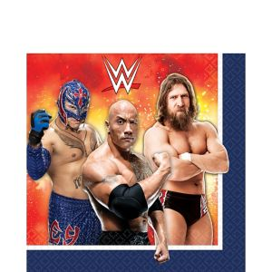 WWE Lunch Napkins 16ct