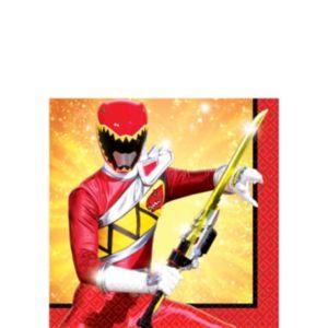 Power Rangers Beverage Napkins 16ct