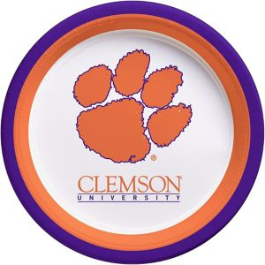 Clemson Tigers Lunch Plates 10ct