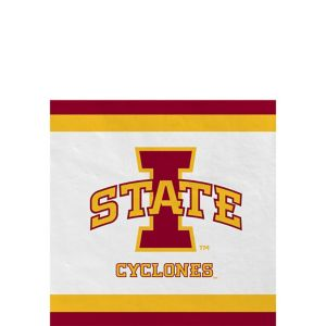 Iowa State Cyclones Beverage Napkins 24ct
