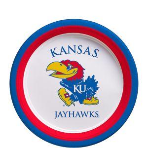 Kansas Jayhawks Dessert Plates 12ct