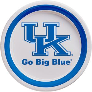 Kentucky Wildcats Lunch Plates 10ct