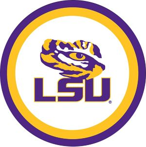Louisiana State Tigers Lunch Plates 10ct