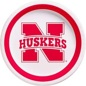 Nebraska Cornhuskers Lunch Plates 10ct