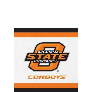 Oklahoma State Cowboys Beverage Napkins 24ct