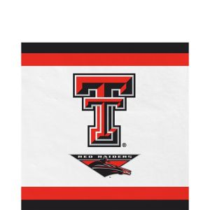 Texas Tech Red Raiders Lunch Napkins 20ct