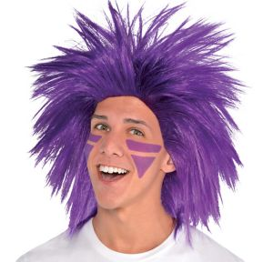 Purple Crazy Wig