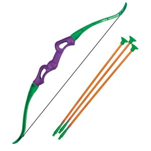 Purple Toy Bow & Arrow Set