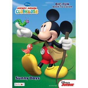 Mickey Mouse Coloring & Activity Book