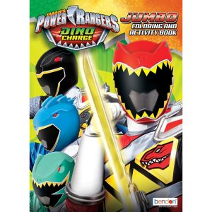 Power Rangers Coloring & Activity Book