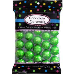 Kiwi Green Caramel Balls 26pc