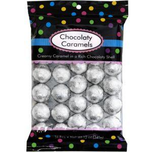 Silver Caramel Balls 26pc