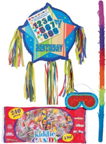 Pull String A Year to Celebrate Personalized Pinata Kit