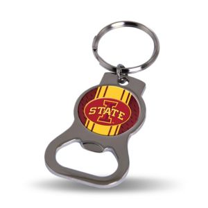 Iowa State Cyclones Bottle Opener Keychain