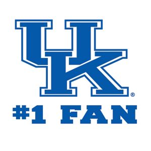 Kentucky Wildcats #1 Fan Decal