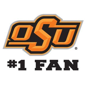 Oklahoma State Cowboys #1 Fan Decal