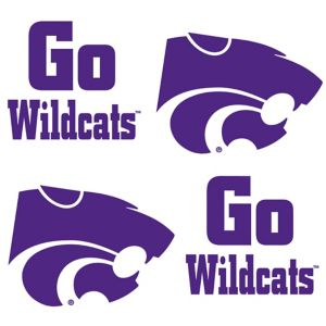 Kansas State Wildcats Face Tattoos 4ct