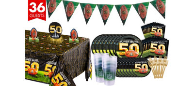 Super Bowl 50 Deluxe Party Kit