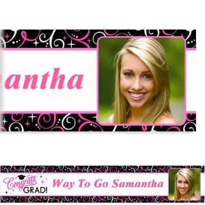 Custom Sparkling Grad Photo Banner 6ft