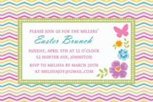 Custom Celebrate Spring Invitations