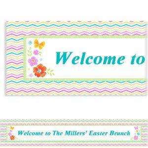 Custom Celebrate Spring Banner 6ft