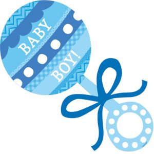 Baby Rattle Decorations