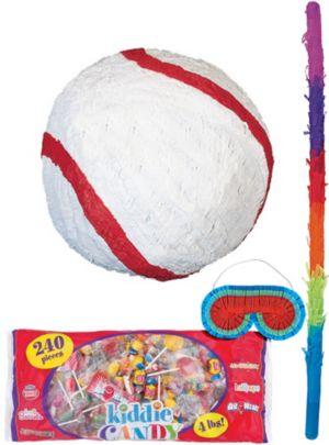 Basic Baseball Pinata Kit