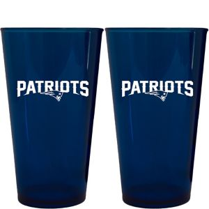 New England Patriots Pint Cups 2ct