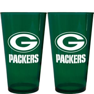 Green Bay Packers Pint Cups 2ct