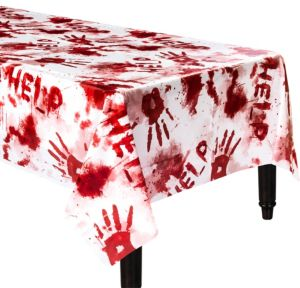 Bloody Hands Table Cover
