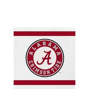 Alabama Crimson Tide Beverage Napkins 24ct