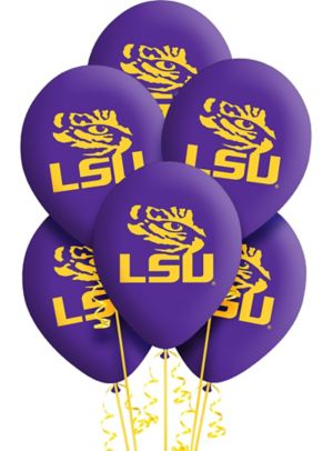 Louisiana State Tigers Balloons 10ct