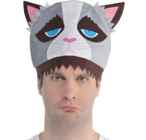Grouchy Cat Hat