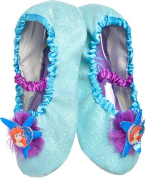 Child Ariel Slipper Shoes - The Little Mermaid