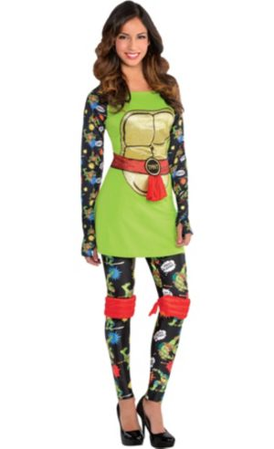 Teenage Mutant Ninja Turtles Long-Sleeve Dress