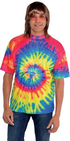60s Hippie Tie-Dye T-Shirt
