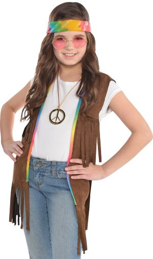 Child 60s Hippie Fringe Vest