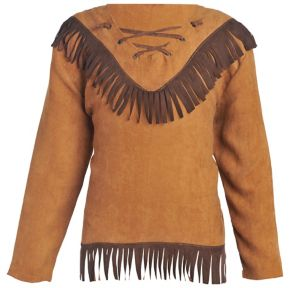 Child Native American Fringe Shirt