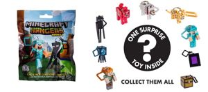 Minecraft Keychain Mystery Pack - Series 2