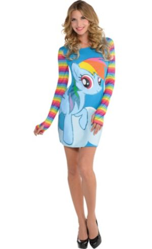 Rainbow Dash Long-Sleeve Dress - My Little Pony