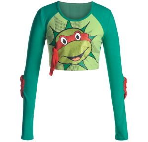 Raphael Crop Top - Teenage Mutant Ninja Turtles