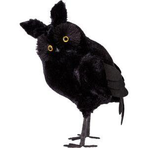 Black Fuzzy Owl