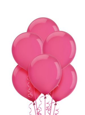 Bright Pink Balloons 20ct