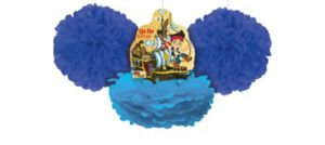 Jake and the Never Land Pirates Fluffy Decorations 3ct